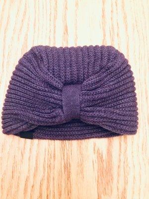 Nümph Sombrero de punto púrpura