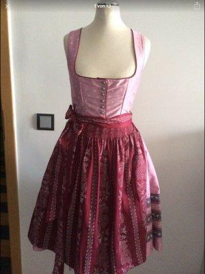 Turi Landhaus Dirndl Gr 34 rosa