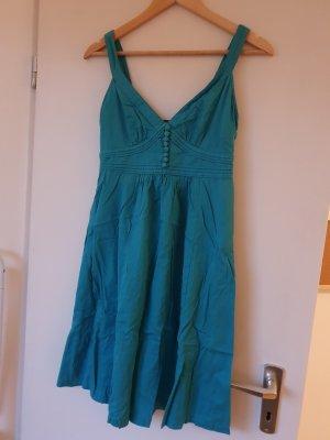Turkis Baumwolle Kleid