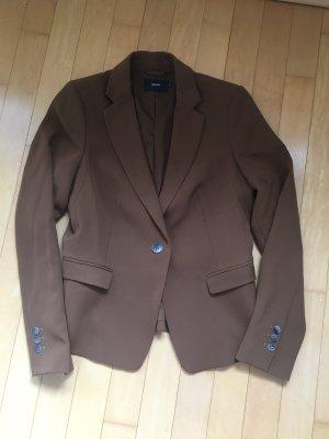 Turnover Short Blazer bronze-colored