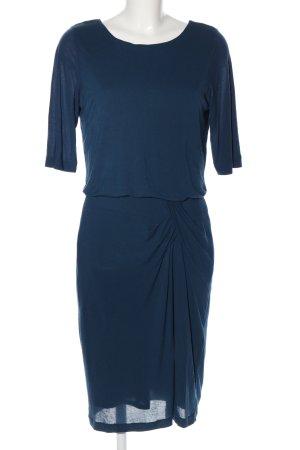 Turnover Blusenkleid blau Elegant