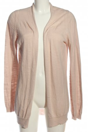 Turnover Cardigan pink meliert Casual-Look
