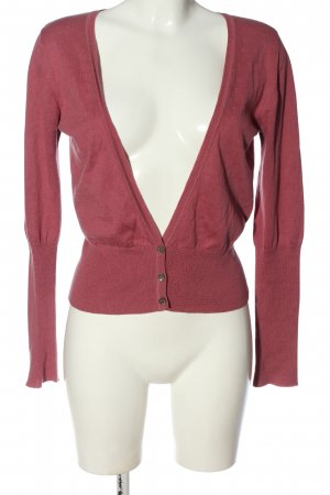 Turnover Cardigan pink casual look