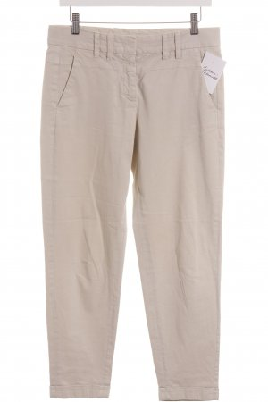 Turnover Chinohose hellbeige Casual-Look
