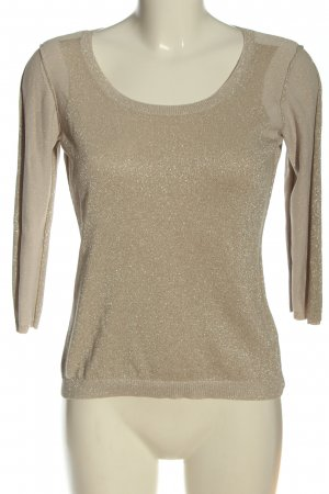 Turnover Fine Knit Jumper natural white casual look