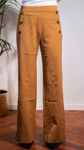 Turnover Marlene Trousers brown
