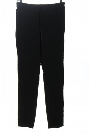 Turnover Jeggings schwarz Business-Look