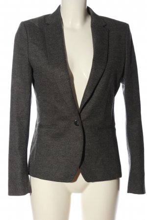 Turnover Klassischer Blazer light grey flecked business style