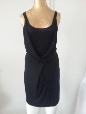 Turnover Kleid schwarz in S