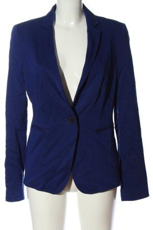 Turnover Short Blazer blue business style