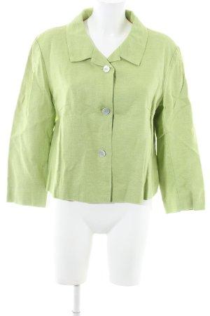 Turnover Kurz-Blazer grün Casual-Look
