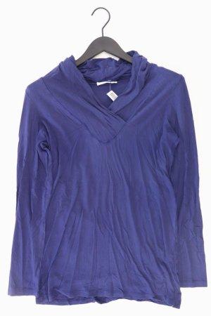 Turnover Langarmshirt blau Größe XL