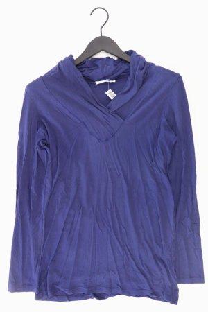 Turnover V-Neck Shirt blue-neon blue-dark blue-azure