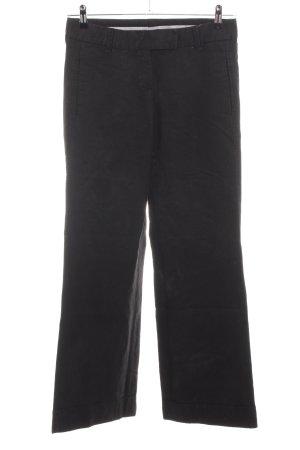 Turnover Pantalón de lino negro estilo «business»