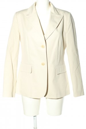 Turnover Long-Blazer creme Business-Look