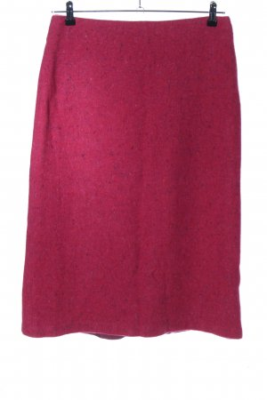 Turnover Maxi Skirt red-blue flecked casual look