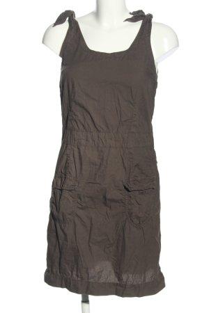 Turnover Mini Dress brown casual look