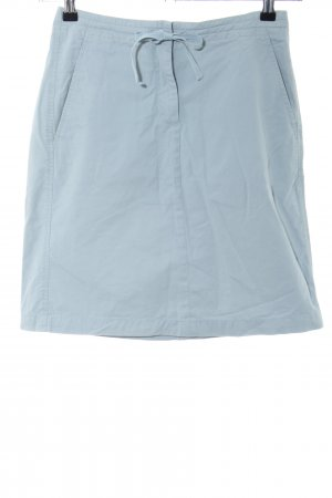 Turnover Minirock blau Casual-Look