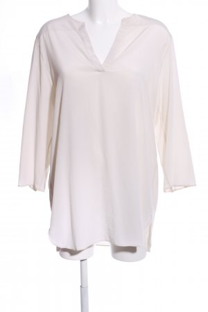 Turnover Schlupf-Bluse creme Casual-Look