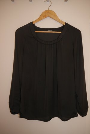 Turnover Slip-over blouse antraciet-donkergrijs Polyester