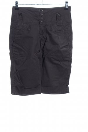 Turnover Shorts schwarz Casual-Look