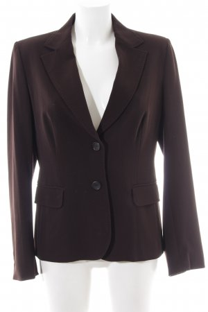 Turnover Smoking-Blazer schwarz Business-Look