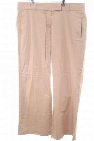 Turnover Stoffhose creme Casual-Look