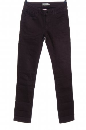 Turnover Straight Leg Jeans brown casual look