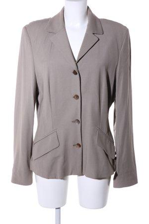 Turnover Blazer in lana grigio chiaro stile casual