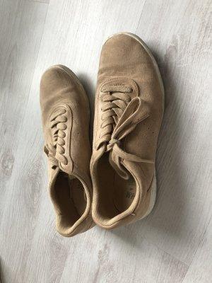 H&M Lace-Up Sneaker beige