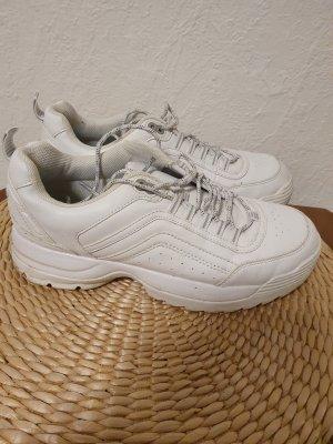 Deichmann Slip-on Shoes white