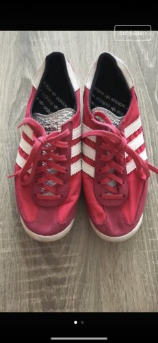 Adidas Originals Basket à lacet rose-blanc