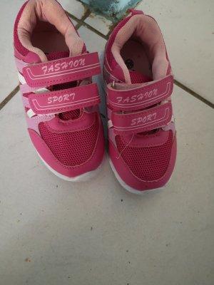 Velcro Sneakers pink