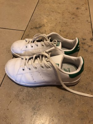 Adidas Originals Sneakers met veters wit-bos Groen Leer