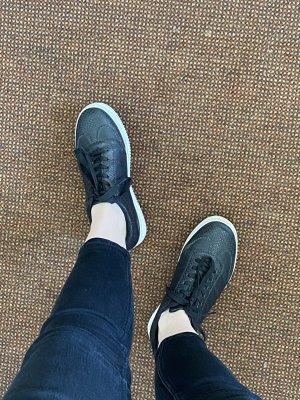 Heel Sneakers black-white