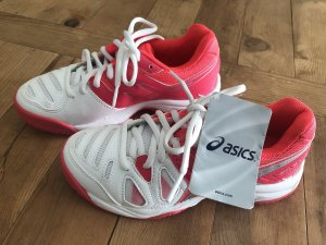 Asics Lace Shoes magenta-white