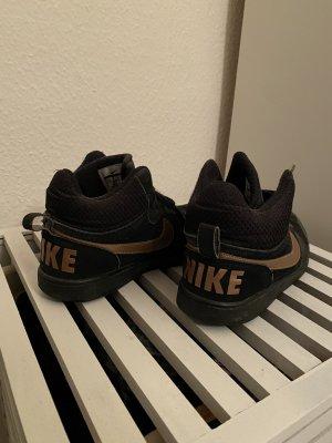Nike Zapatos de patinador negro-color oro