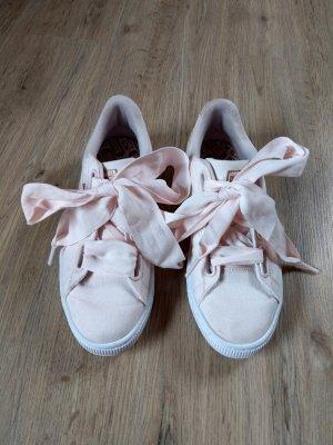 Turnschuhe Sneaker weiß rosa Puma