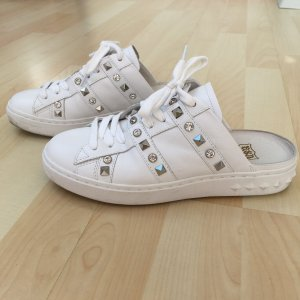ASH Slip-on Sneakers white-silver-colored mixture fibre