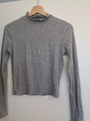 Ambiance Chemise côtelée gris clair-gris