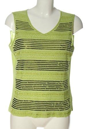 Tuzzi Blusa senza maniche verde modello web stile casual