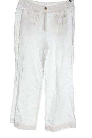 Tuzzi Pantalone largo bianco stile casual