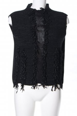 Tuzzi Fine Knitted Cardigan black business style