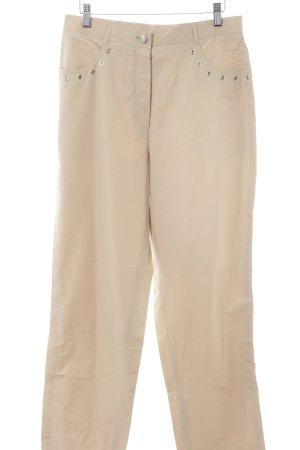 Tuzzi High-Waist Hose beige schlichter Stil