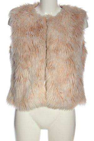 Tuzzi Kamizelka ze sztucznym futrem różowy-nude W stylu casual