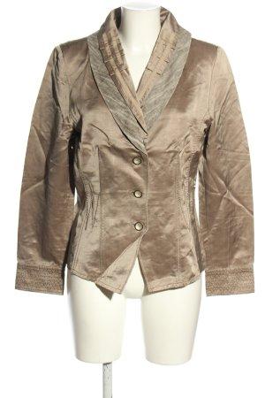 Tuzzi Kurz-Blazer bronzefarben Business-Look