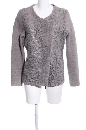 Tuzzi Giacca corta grigio chiaro puntinato stile casual