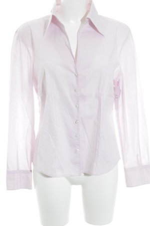 Tuzzi Langarmhemd hellrosa schlichter Stil