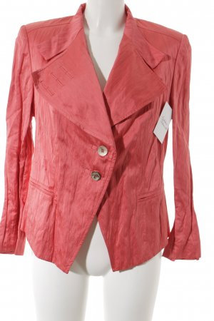 Tuzzi Blazer long saumon-rouge clair style d'affaires
