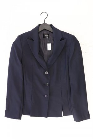 Tuzzi Lange blazer blauw-neon blauw-donkerblauw-azuur Polyester